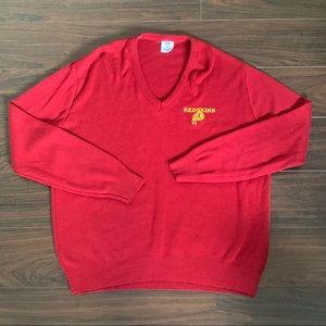 Vintage NFL Washington Redskins 70's 80's sweater